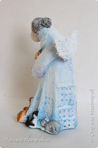 Кукла интерьерная-Ангел Бабушка фото 5
