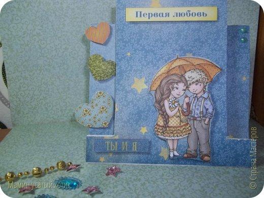 """Как то на меня """"нахлынуло"""" вдохновение и родились вот такие вот открыточки) фото 7"""