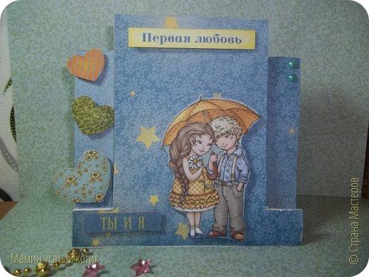 """Как то на меня """"нахлынуло"""" вдохновение и родились вот такие вот открыточки) фото 8"""
