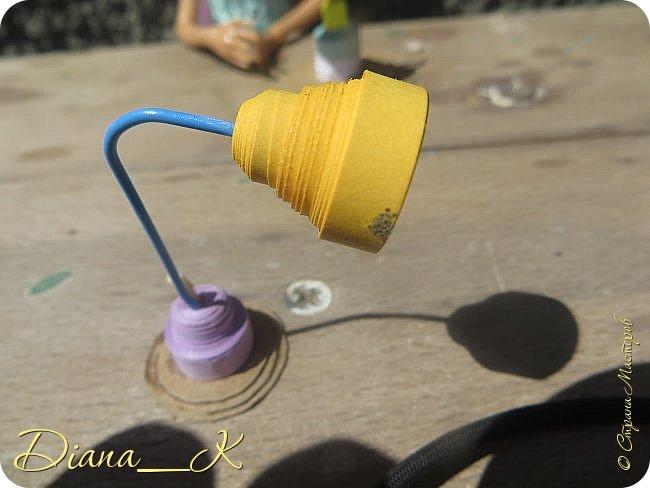 -вот такая вазочка из пуговок, бусинок,блесток и милой штуковины из бантика фото 6