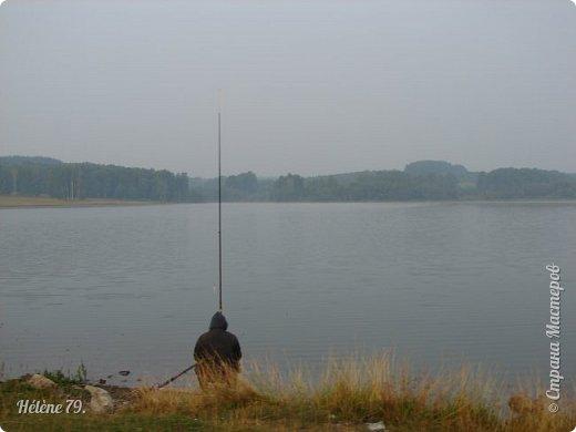 """""""С утра сидит на озере   Любитель-рыболов,  Сидит, мурлычет песенку,  А песенка без слов...  Здравствуйте, дорогие жители нашей замечательной СМ! Приглашаю ВАС на утреннюю рыбалку :) фото 5"""
