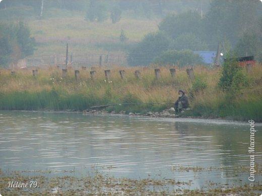 """""""С утра сидит на озере   Любитель-рыболов,  Сидит, мурлычет песенку,  А песенка без слов...  Здравствуйте, дорогие жители нашей замечательной СМ! Приглашаю ВАС на утреннюю рыбалку :) фото 9"""