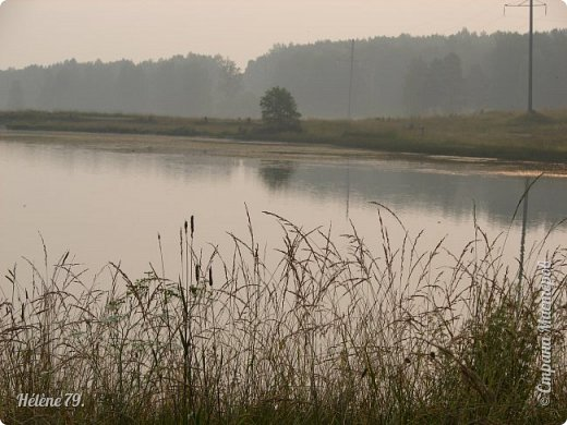 """""""С утра сидит на озере   Любитель-рыболов,  Сидит, мурлычет песенку,  А песенка без слов...  Здравствуйте, дорогие жители нашей замечательной СМ! Приглашаю ВАС на утреннюю рыбалку :) фото 14"""