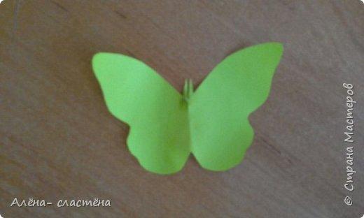 Бабочки из цветной бумаги фото 4