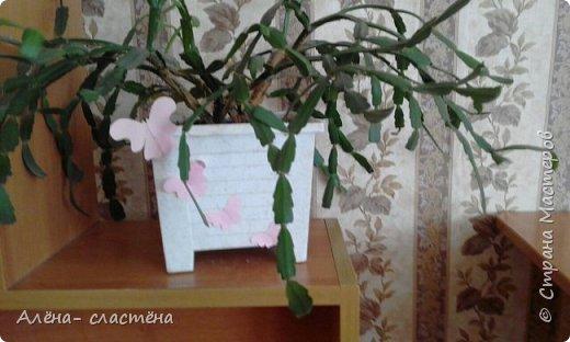 Бабочки из цветной бумаги фото 1