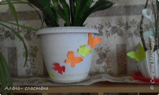 Бабочки из цветной бумаги фото 3