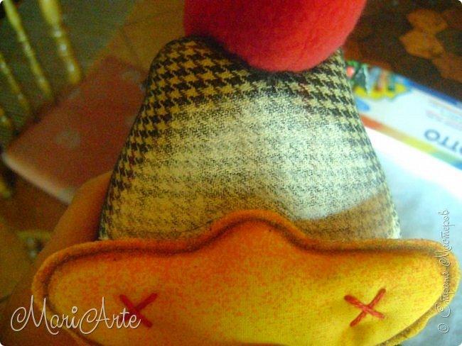 Шьем текстильного петушка