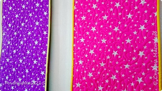 Дорогие мои друзья ! Пополнение в рядах кармашков для садика . Цветовую гамму и рисунок на самих кармашках выбирала заказчица , отметая все мои предложения . Но результат , в принципе, не плохой, как считаете ?  фото 3
