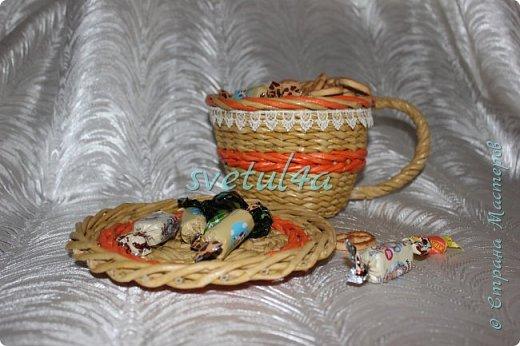 Чашка конфетница и органайзер фото 1
