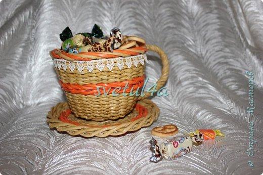 Чашка конфетница и органайзер фото 2