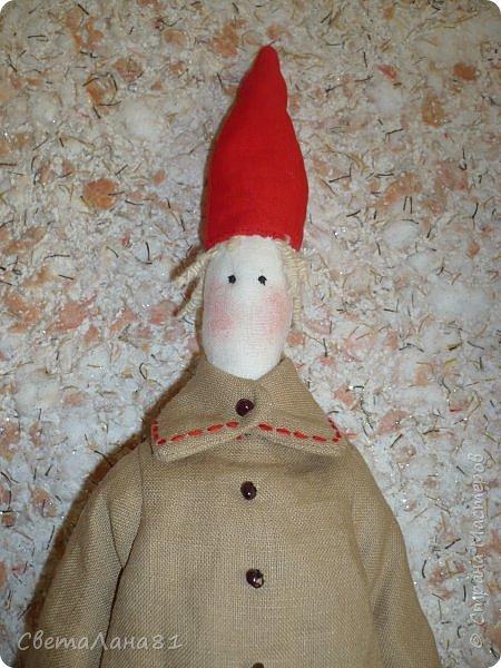 Тильда Санта Клаус фото 2