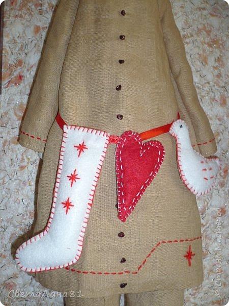Тильда Санта Клаус фото 3
