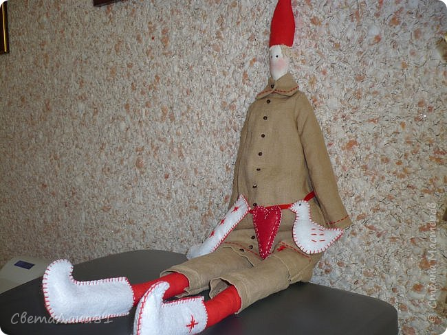 Тильда Санта Клаус фото 5