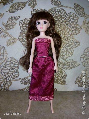 """Здравствуйте, это заключительная """"на пока"""" часть гардероба для моей куклы, кстати он подходит и Барби, мы мерили на Барби супер движения  фото 13"""