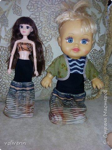 """Здравствуйте, это заключительная """"на пока"""" часть гардероба для моей куклы, кстати он подходит и Барби, мы мерили на Барби супер движения  фото 14"""