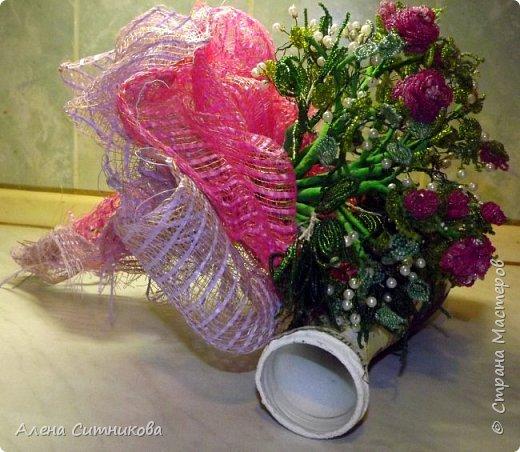 букет из чайных роз фото 2