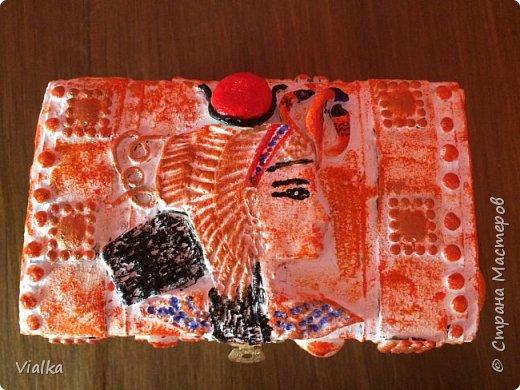 Египетский сундук со дна морского фото 2