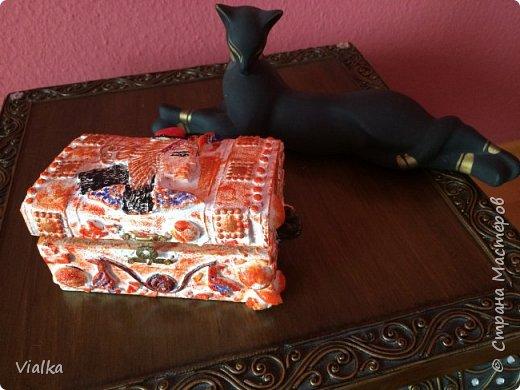Египетский сундук со дна морского фото 1