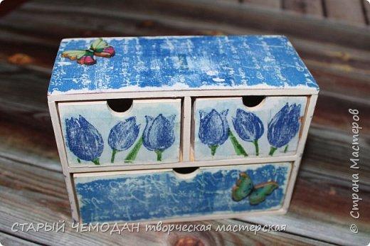 миникомод Тюльпаны фото 2