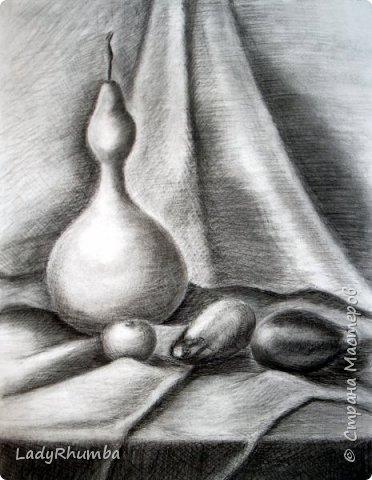 Всем доброго дня!   Сегодня показываю свои натюрморты. Многие из художки, некоторые писала даже по своей воле, хехехе. Прошу гнилыми помидорками не бросаться.  фото 7