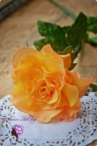 """Вот такое роза """"Персик"""" у меня получилась)) фото 3"""