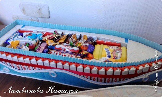 Заказ для любимой клиентки......у нее трое деток....и даже есть внучок )))      Все как обычно.....замки полные конфет )  Ну и лимонад ..... фото 12