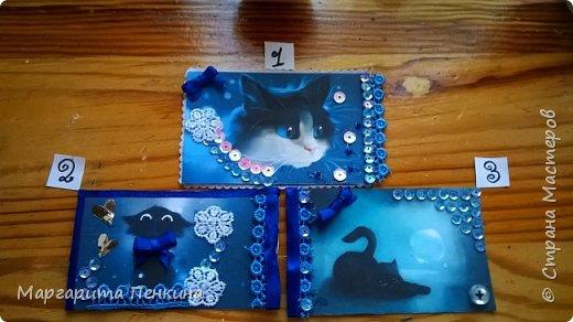 """Всем доброго времени суток! Вот моя новая серия АТС! (Когда-то пробовала, но не выкладывала) Называется """"Кошки в лунном свете""""  №1-Alyona The Monster №2-оставлю себе. №3-Подарок для Даши(ёжик из мира миниатюры). фото 1"""
