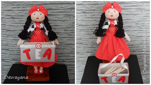 Это куколки чаевницы. Их очень любят мои гости))Любят чтобы я их им дарила)) фото 8
