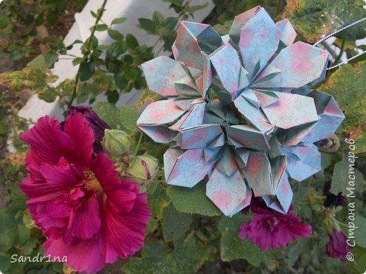 кусудама Kiyoko- Flaviane Koti и Passiflora фото 6