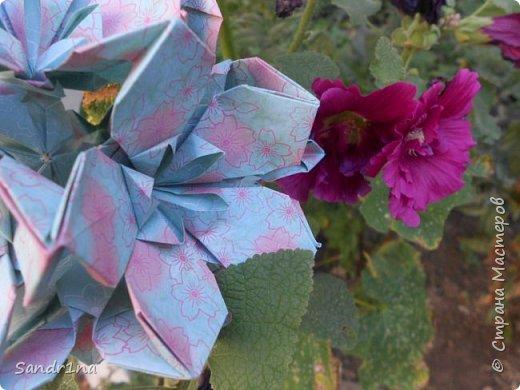 кусудама Kiyoko- Flaviane Koti и Passiflora фото 7