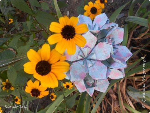 кусудама Kiyoko- Flaviane Koti и Passiflora фото 1