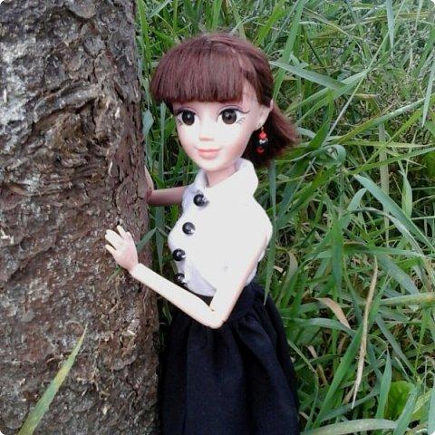 """Доброе время суток! Сегодня я сдаю работу на конкурс """" Школьные деньки"""" Её представляет Алиса. Она переходит в этом году в 8 класс. http://stranamasterov.ru/node/1042660 фото 2"""