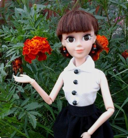 """Доброе время суток! Сегодня я сдаю работу на конкурс """" Школьные деньки"""" Её представляет Алиса. Она переходит в этом году в 8 класс. http://stranamasterov.ru/node/1042660 фото 7"""