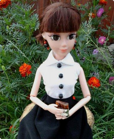 """Доброе время суток! Сегодня я сдаю работу на конкурс """" Школьные деньки"""" Её представляет Алиса. Она переходит в этом году в 8 класс. http://stranamasterov.ru/node/1042660 фото 6"""