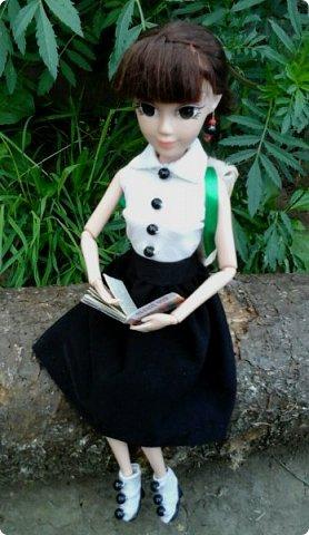"""Доброе время суток! Сегодня я сдаю работу на конкурс """" Школьные деньки"""" Её представляет Алиса. Она переходит в этом году в 8 класс. http://stranamasterov.ru/node/1042660 фото 5"""