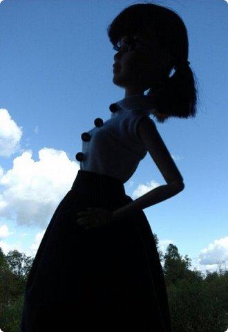 """Доброе время суток! Сегодня я сдаю работу на конкурс """" Школьные деньки"""" Её представляет Алиса. Она переходит в этом году в 8 класс. http://stranamasterov.ru/node/1042660 фото 4"""