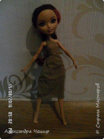 Здравствуйте, уважаемая Страна Мастеров!   Я хочу показать вам платье, сшитое из капрона.   Платье через плечо. Можно одевать, как с поясом, так и без.   Простите за качество!  фото 6