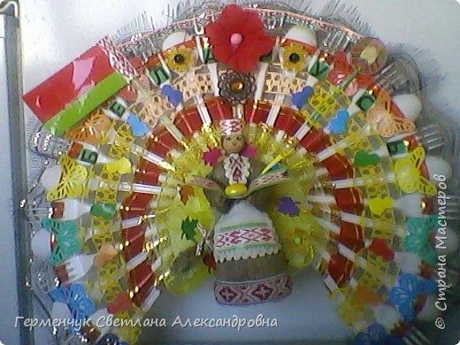 Это веер  на тематику  - Беларусь. Изготовила  его для классного уголка. фото 1