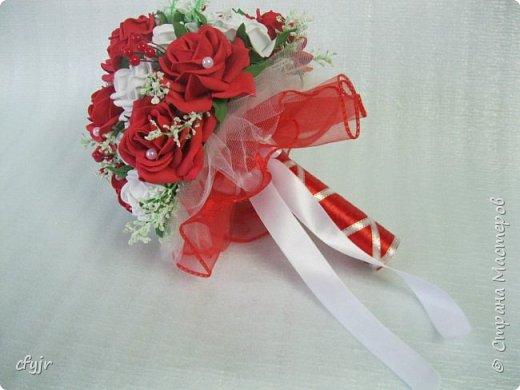 Свадебный букет  фото 4