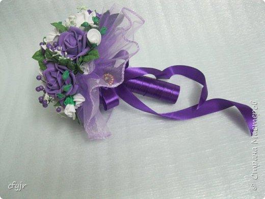 свадебный букет.  фото 4