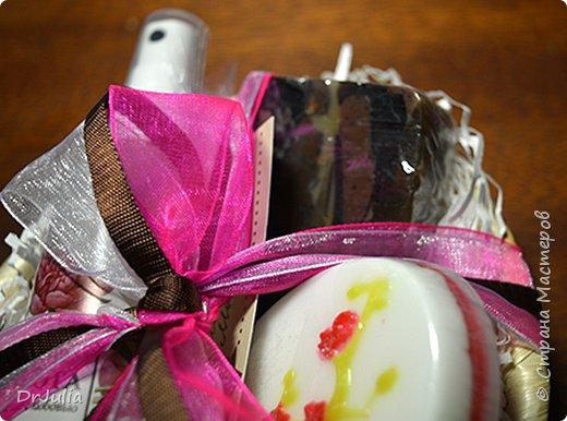 Продолжаю делать мыльные букеты, теперь вместо лилий http://stranamasterov.ru/node/964611 анютины глазки. фото 15