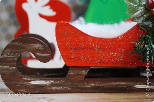 И снова здравствуйте! Продолжаю показывать новогодние работы. Любимая моя форма открыточки (да и не только открыток)) ).Первая круглая открыточка диаметр которой 15 см. фото 21