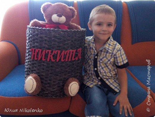 Корзина для игрушек фото 3