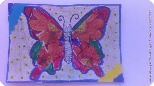 """Здравствуй СМ. Я в этом деле новичок, это мои самые первые карточки. И сегодня я представляю свои АТСки """"Фантазия с бабочками"""".  Давайте посмотрим на карточки. фото 5"""