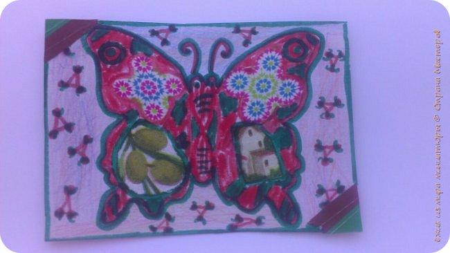 """Здравствуй СМ. Я в этом деле новичок, это мои самые первые карточки. И сегодня я представляю свои АТСки """"Фантазия с бабочками"""".  Давайте посмотрим на карточки. фото 4"""