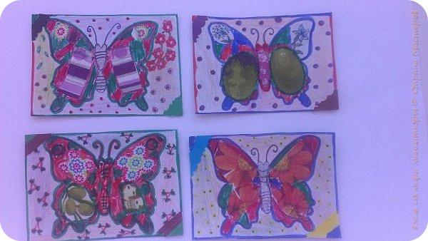 """Здравствуй СМ. Я в этом деле новичок, это мои самые первые карточки. И сегодня я представляю свои АТСки """"Фантазия с бабочками"""".  Давайте посмотрим на карточки. фото 1"""