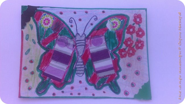 """Здравствуй СМ. Я в этом деле новичок, это мои самые первые карточки. И сегодня я представляю свои АТСки """"Фантазия с бабочками"""".  Давайте посмотрим на карточки. фото 3"""