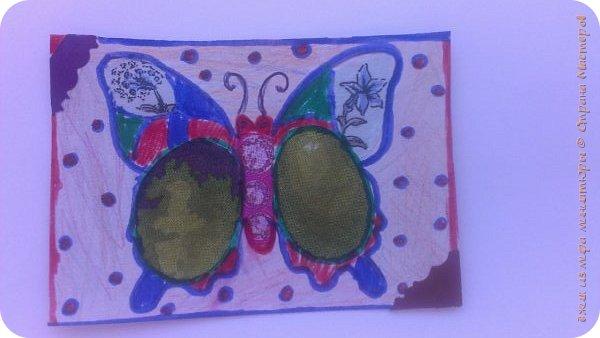 """Здравствуй СМ. Я в этом деле новичок, это мои самые первые карточки. И сегодня я представляю свои АТСки """"Фантазия с бабочками"""".  Давайте посмотрим на карточки. фото 2"""