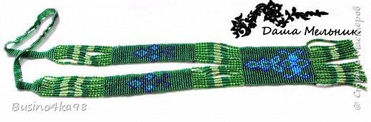 Бисероплетение уникальный вид рукоделия, который не ограничивает творческих людей в создании различных интересных вещиц, картин, украшений. Бисером можно как вышивать, клеить, так и плести. Любой вид применения бисера позволяет развивать свой необычный взгляд на простые вещи. Современный этнический стиль нашел прекрасное воплощение в плетение герданов.  Обычно герданы создаются из ниток на ткацких станках или специально приспособленных дощечках. Такой вид украшения из бисера является поистине шедевром. Для плетения герданов прекрасно подходят схемы для вышивки крестом. К тому же простые и незамысловатые схемы позволяют создавать свои узоры и оригинальные рисунки. фото 6
