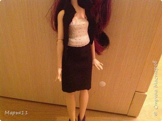 Школьная форма для куклы фото 3